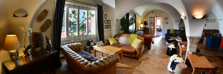 Salle voûtée Hôtel La Mayt