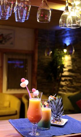 Cocktails bar à Vars Hôtel La Mayt