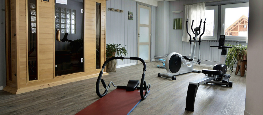 Our Fitness room in the Hôtel La Mayt